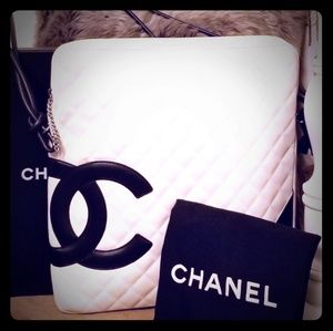Part 2 Chanel Cambon Large Shoulder/Crossbody Bag